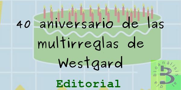 40 aniversario de las multirreglas de Westgard